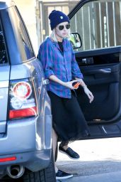 Emma Roberts - Out in West Hollywood, Jan. 2015