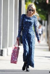 Emma Roberts Street Style - Out in West Hollywood, January 2015