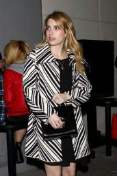 Emma Roberts Style - Leaving a Party in Beverly Hills - Jan. 2015