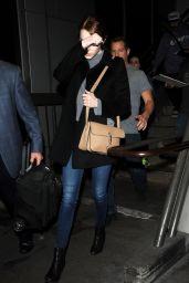 Emma Stone at LAX Airport, January 2015
