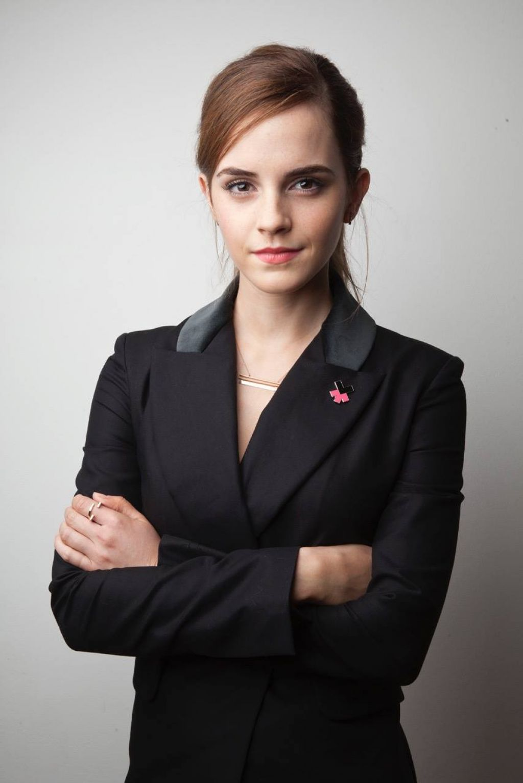 Emma Watson – Davos 2015 Portrait