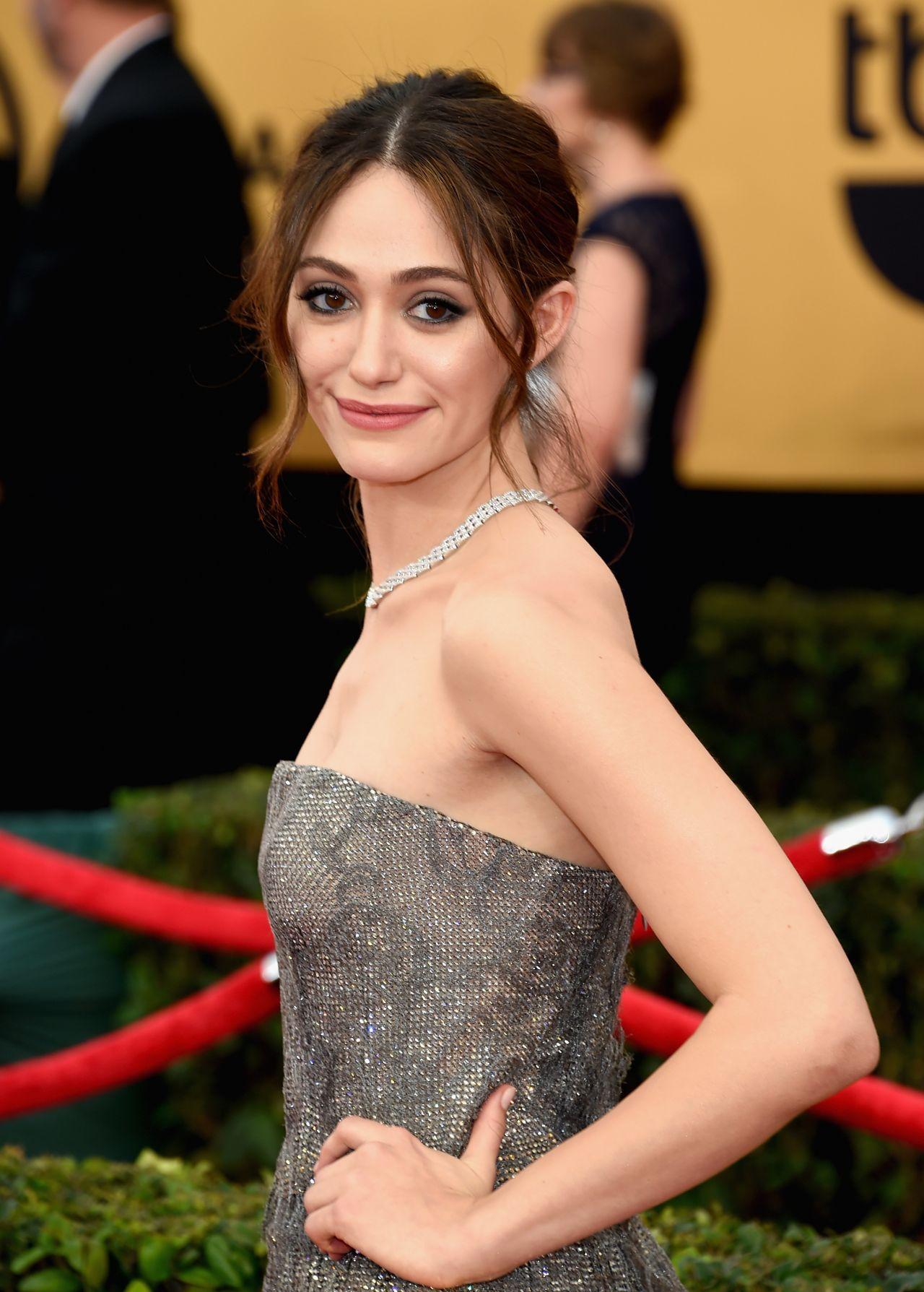 Emmy Rossum – 2015 SAG Awards in Los Angeles Emmy Rossum