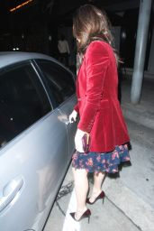 Emmy Rossum Night Out Style - Exiting Craig