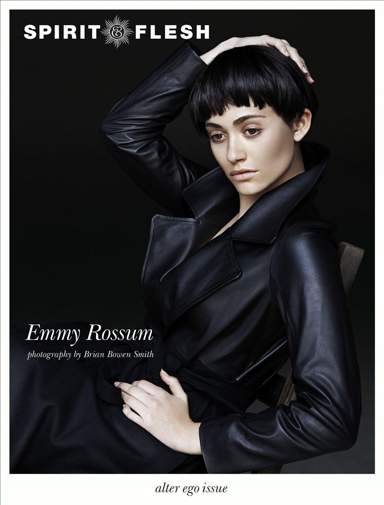 Emmy Rossum - Spirit and Flesh Magazine 2015 Issue