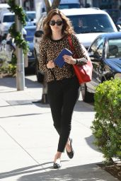 Emmy Rossum Style - Going to La Scala in Beverly Hills - January 2015