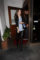 Emmy Rossum Style - Leaving Madeo