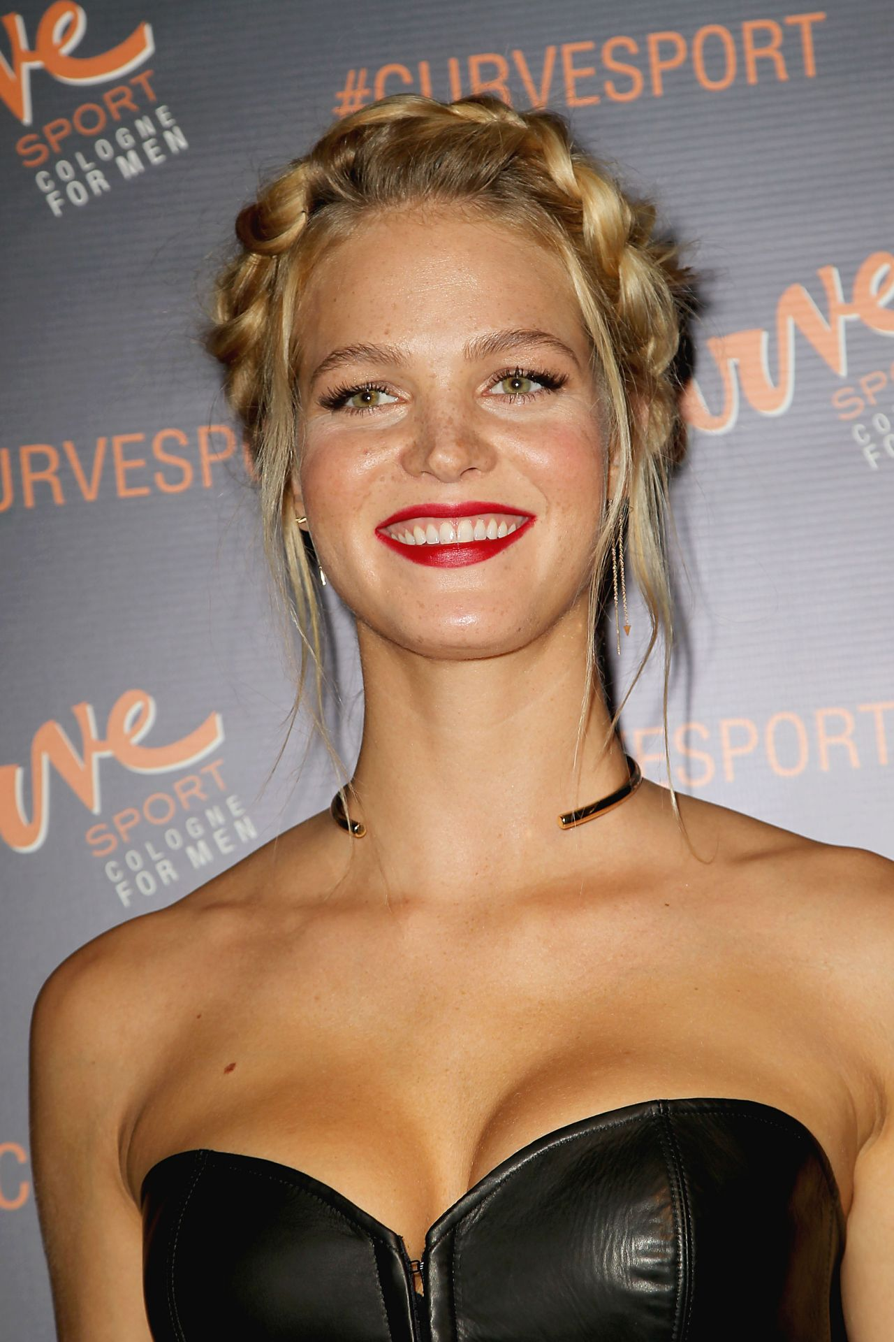 Erin Heatherton Curve Sport Launch Party In New York City