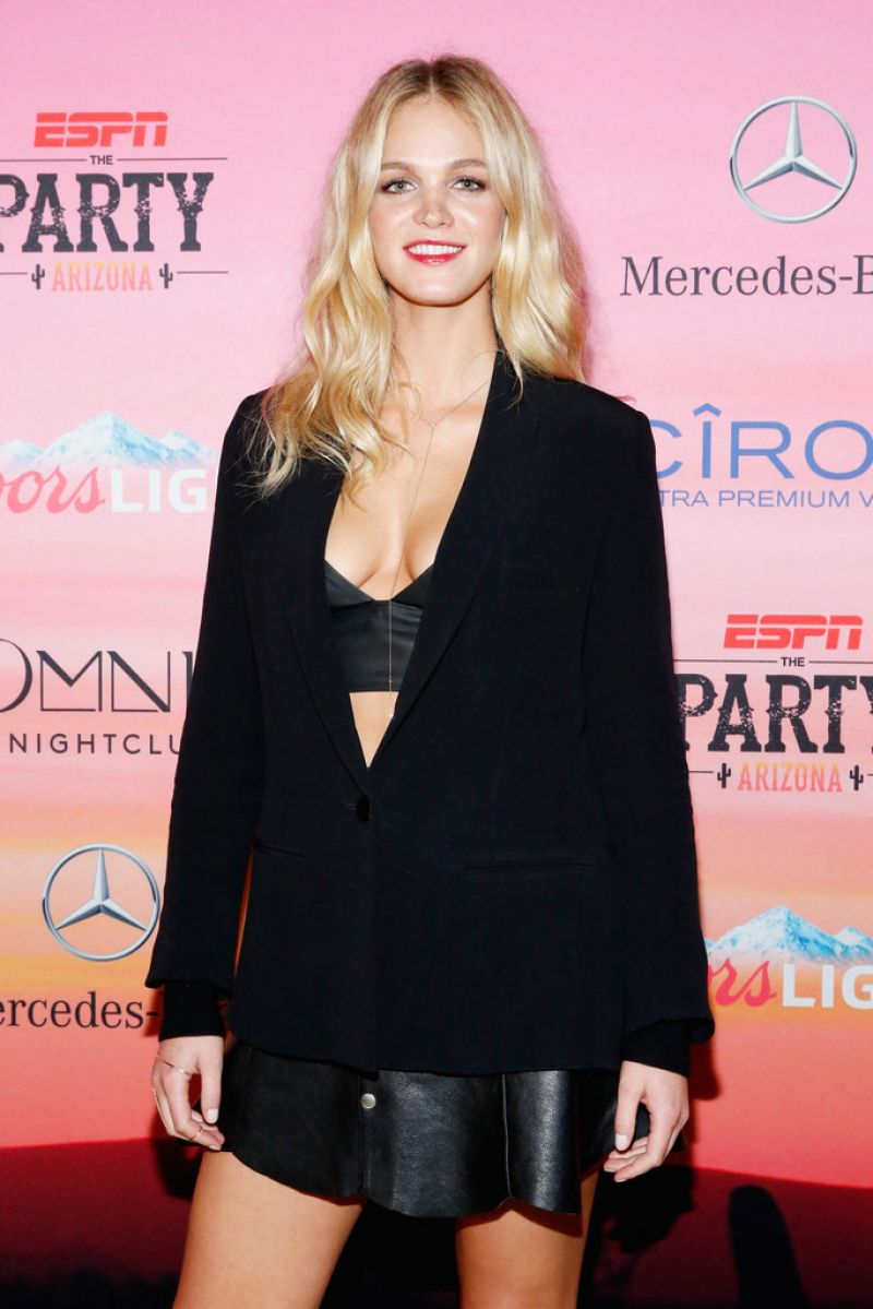 Erin Heatherton - ESPN the Party in Scottsdale - January 2015