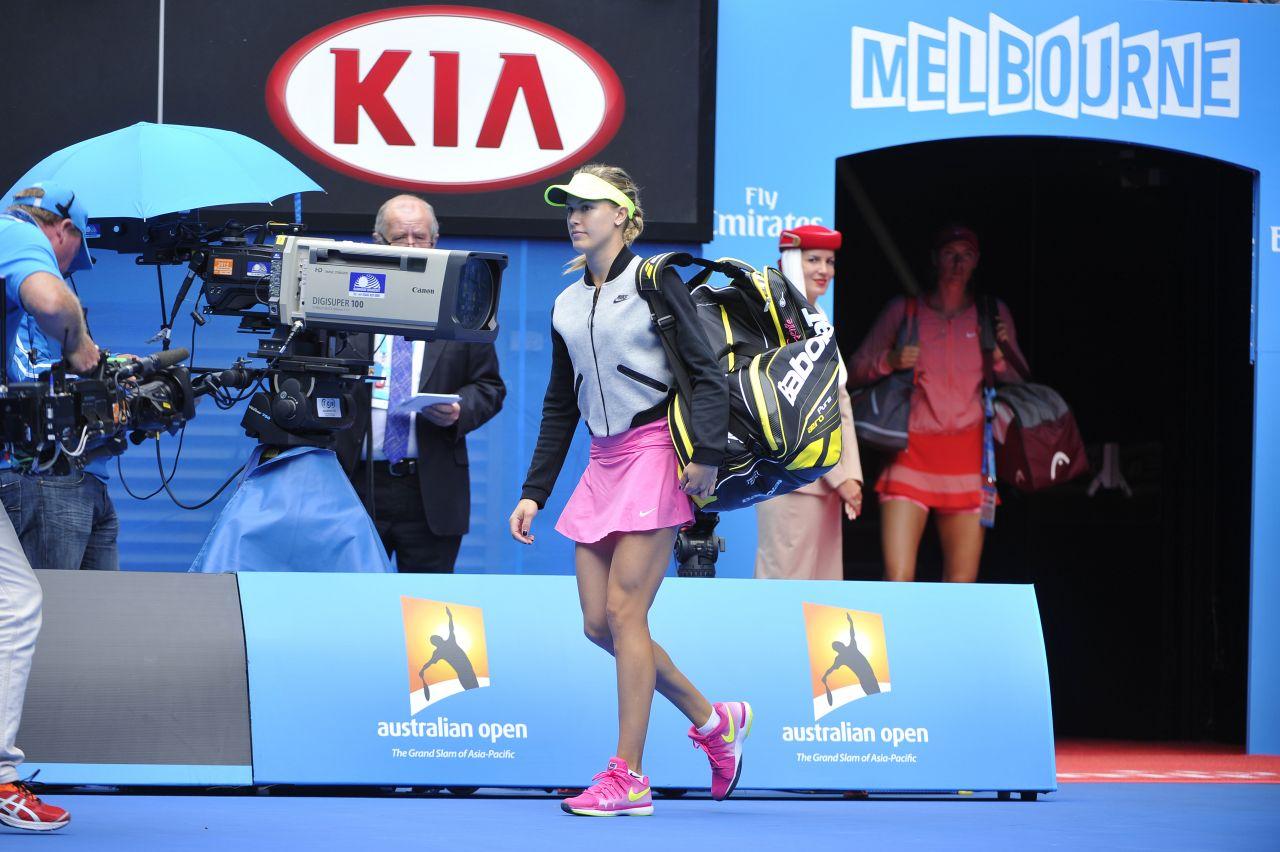 Eugenie Bouchard – 2015 Australian Open in Melbourne Quarter Final