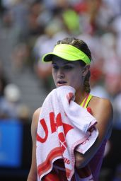 Eugenie Bouchard – 2015 Australian Open in Melbourne Quarter Final