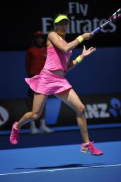Eugenie Bouchard – 2015 Australian Open in Melbourne – Round 4