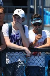 Eugenie Bouchard – 2015 Australian Open Practice Session