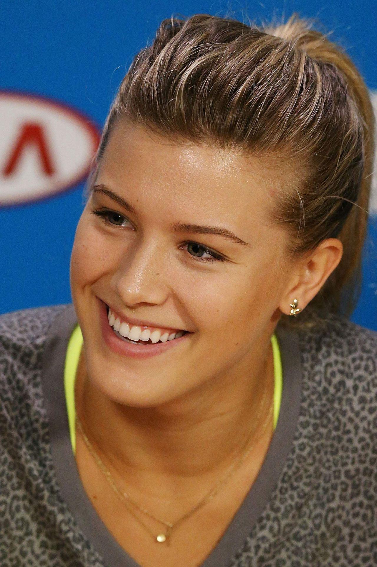 Eugenie Bouchard - 2015 Australian Open Press Conference