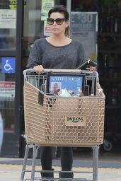 Eva Longoria Booty in Tights - Shopping in Malibu, January 2015