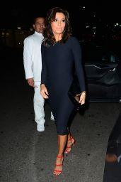 Eva Longoria Has Dinner at Mr Chow in Los Angeles - January 2015