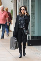 Eva Longoria Street Style - Shopping at The Grove in Los Angeles, January 2015