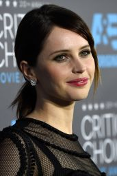 Felicity Jones – 2015 Critics Choice Movie Awards in Los Angeles