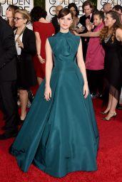 Felicity Jones – 2015 Golden Globe Awards in Beverly Hills