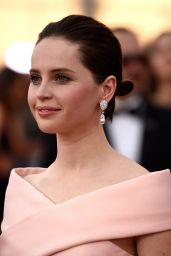 Felicity Jones – 2015 SAG Awards in Los Angeles
