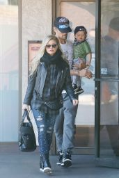 Fergie Duhamel - Out in Los Angeles - January 2015