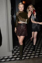Francesca Eastwood - Leaves Jeff Beachers Party in West Hollywood, January 2015