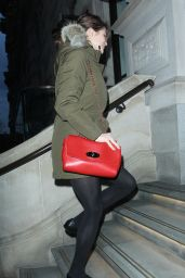 Gemma Arterton Style - Out in Manchester, January 2015