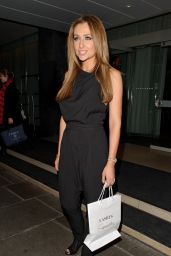 Gemma Merna - Lashes Launch at the Sanderson Hotel in London - January 2015