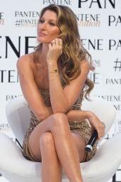Gisele Bundchen at the Pantene Revolution Launch In Sao Paulo in Brazil – January 2015