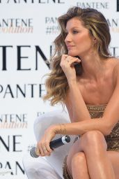 Gisele Bundchen at the Pantene Revolution Launch In Sao Paulo in Brazil - January 2015