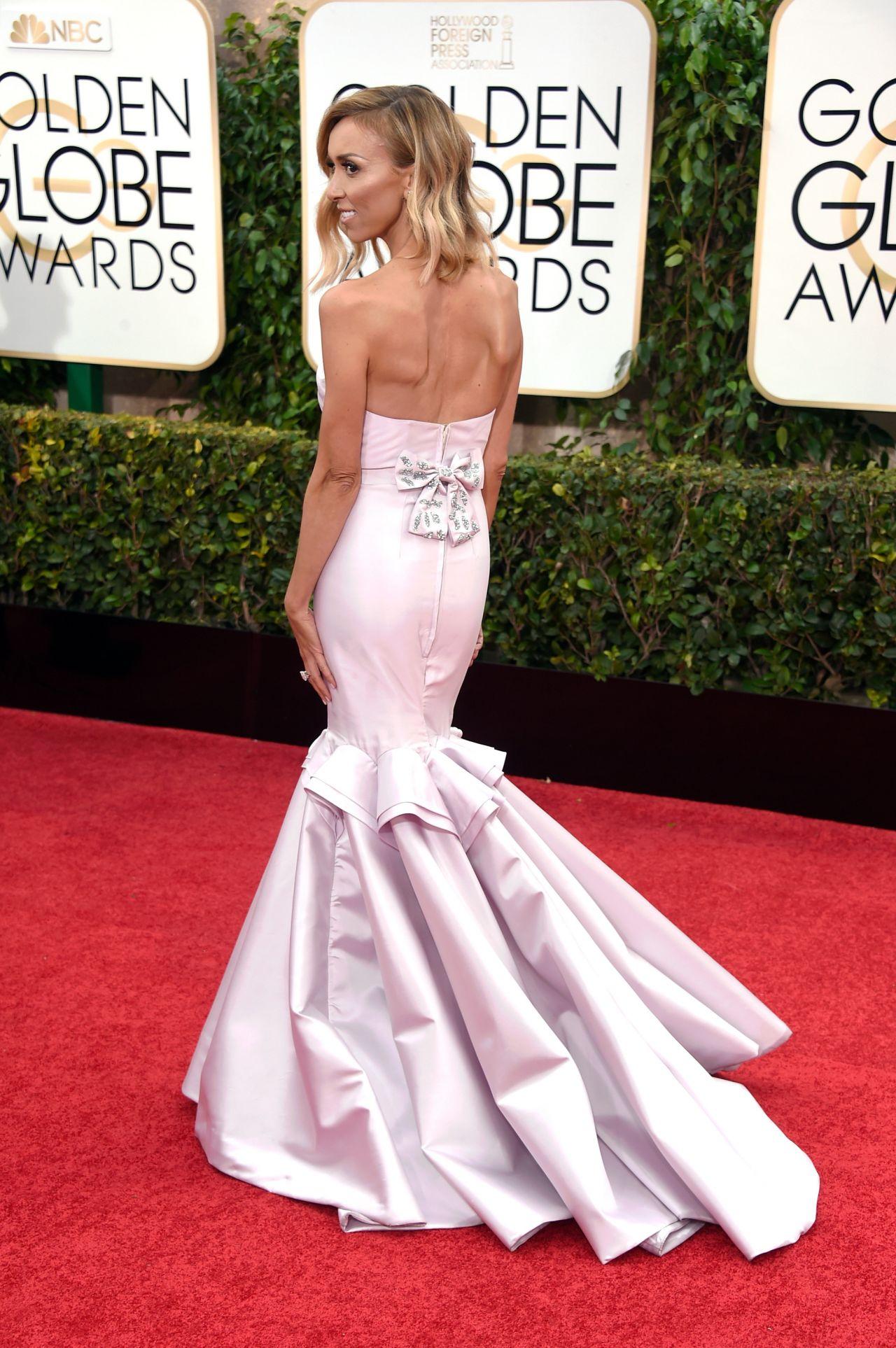 Giuliana Rancic 2015 Golden Globe Awards In Beverly Hills