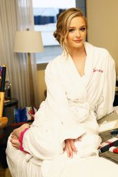 Greer Grammer - Preparing for the 2015 Golden Globes with L