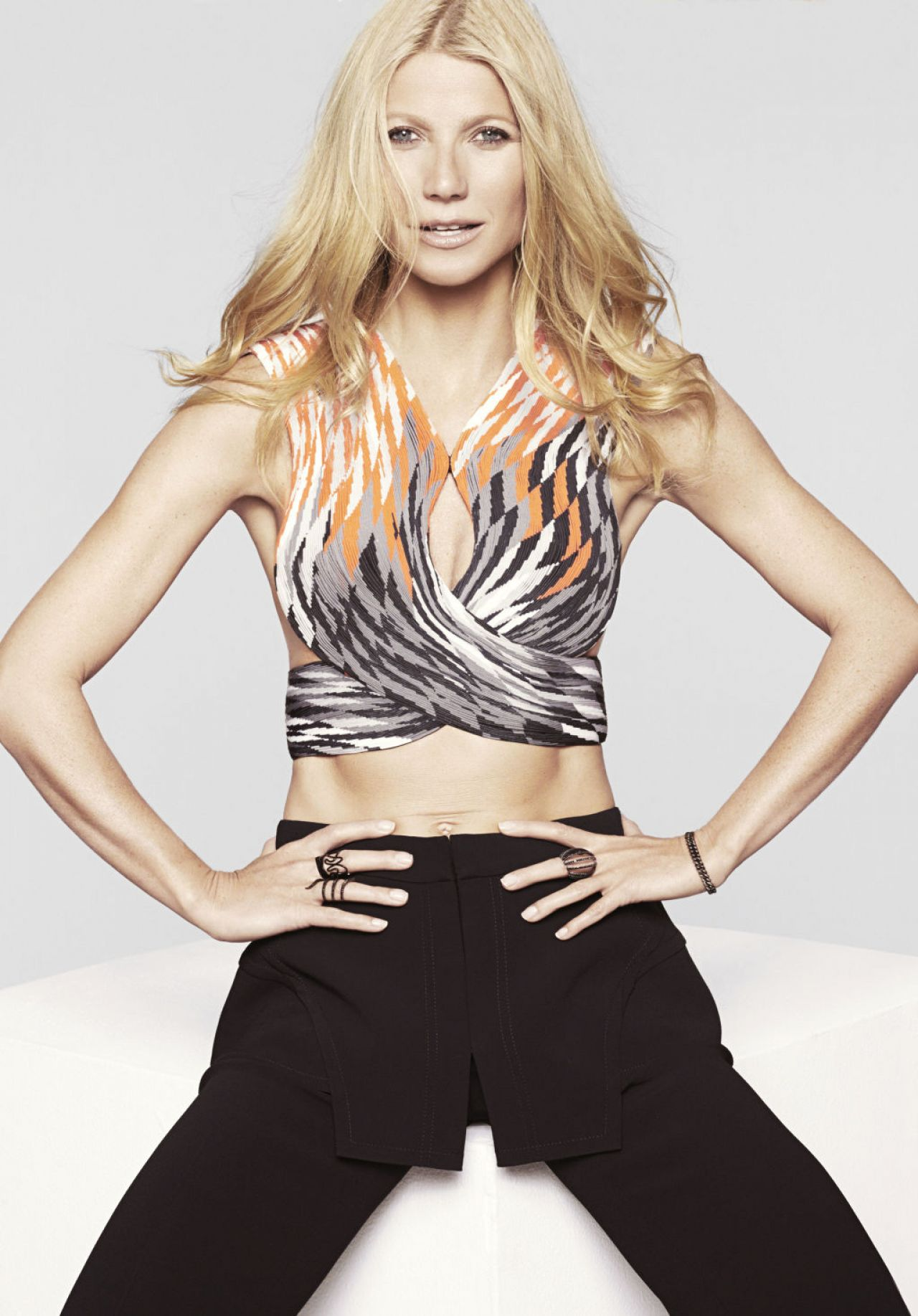 Gwyneth Paltrow - Marie Claire Magazine February 2015 Cover and Pics