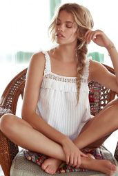 Hailey Clauson - Models Beach Wear For Tularosa, January 2015