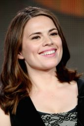 Hayley Atwell – Marvel's Agent Carter Panel TCA Press Tour in Pasadena