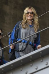 Heidi Klum - Climbing the Sydney Harbour Bridge in Sydney, January 2015