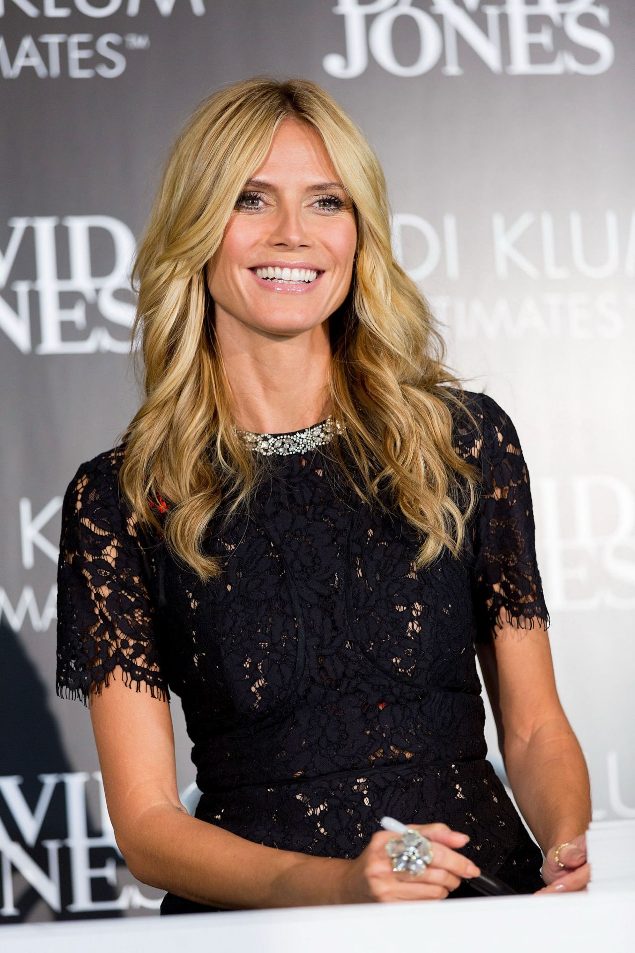 ba6920b321a2 Heidi Klum - Intimates Collection Launch in Sydney, January 2015