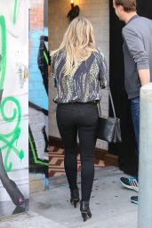 Hilary Duff Booty in Jeans - out in LA, January 2015