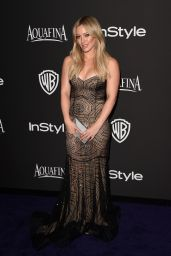 Hilary Duff  – InStyle And Warner Bros 2015 Golden Globes Party
