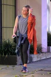 Hilary Duff - Leaving the Gym in West Hollywood, January 2015