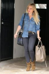 Hilary Duff - Out in West Hollywood - Jan. 2015