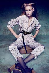 Hollie-May Saker - Photoshoot for Marie Claire Magazine (Italia) February 2015