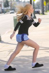 Iggy Azalea Booty in Shorts - Out in West Hollywood, Jan. 2015