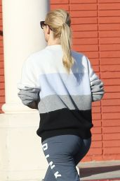Iggy Azalea Booty in Tights - Out in Los Angeles, January 2015