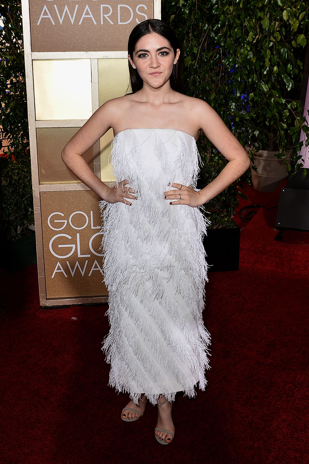 Isabelle Fuhrman Leaves A Golden Globes 2015 Party
