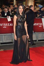 Jade Ewen – 'Mortdecai' Premiere in London