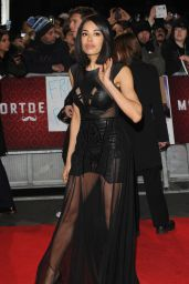 Jade Ewen – 'Mortdecai' Premiere in London
