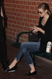 Jaime King Casual Style - Out in Beverly Hills, January 2015