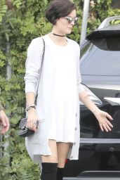 Jaimie Alexander is Stylish - Out in Los Angeles, January 2015