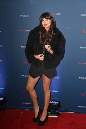 Jameela Jamil Attends the Thomson Scene Launch Event in London, Jan. 2015