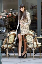 Jameela Jamil Style - Out in London, January 2015